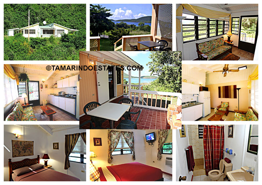 The typical rental apartment                   at Tamarindo Estates