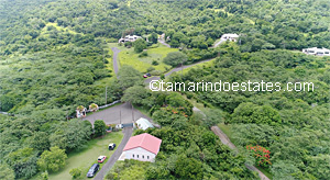 Aerial overview of Tamarindo Estates