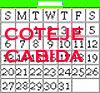 calendario disponible